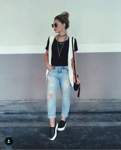 Spring Outfits Women, Trendy Outfits, Cool Outfits, Summer Outfits, Fashion Outfits, Womens Fashion, Vacation Outfits, Outfits Damen, Mode Style