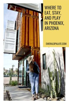 What to do in Phoenix, Arizona in one day. If you are taking a Phoenix, AZ day trip and want to find the best Phoenix, Arizona restaurants, shops, hikes, and attractions, consider this your ultimate Phoenix, Arizona guide! #funthingstodoinphoenix #whattodonearphoenix #thingstodoinphoenixaz Places To Eat, Great Places, Stuff To Do, Things To Do, Downtown Phoenix, Phoenix Arizona, Emerald City, Usa Travel, Day Trip