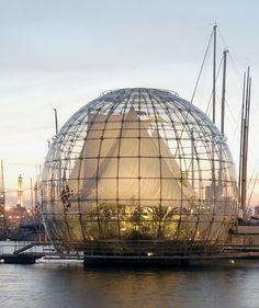 Biosfera, Genova, Italia - Renzo Piano