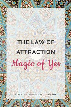 Learn a special type of law of attraction magic that produces rapid transformation and results in your life. It's easy-to-use and helps manifest your dreams