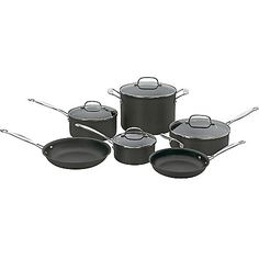 438-042 - Cuisinart Chef's Classic™ Non-Stick Hard Anodized 10-Piece Cookware…