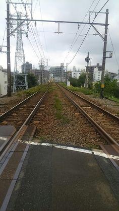 石川台1号踏切。
