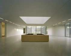 Lobby of the Museum Folkwang in Essen, Germany by British architect David Chipperfield.