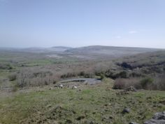 The Burren taken from Corkscrew Hill on Easter Sunday 2014.  What a glorious day it was around the Burren.