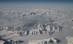 Greenland\'s Ice Sheet From 40,000 Feet