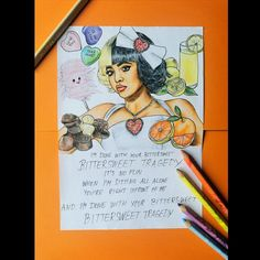 Im Done With You, All Alone, Melanie Martinez, Cry Baby, After School, Babe, Fan Art, Drawings, Artwork