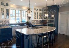 Tres Le Fleur House Plan - Master Kitchen
