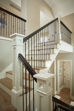 9 Optimistic Tricks: Livingroom Remodel With Fireplace living room remodel on a budget house.Living Room Remodel With Fireplace Wall Colors living room remodel on a budget families.Living Room Remodel With Fireplace Basements. New Staircase, Staircase Remodel, Staircase Makeover, Staircase Railings, Staircase Design, Stairways, Staircase Ideas, Banisters, Painted Staircases