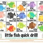 Free! Little fish quick drill for summer fun