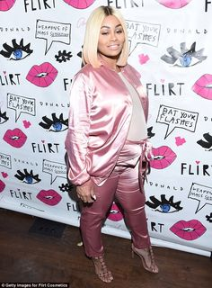 Think pink with Blac Chyna's Alaïa heels. Click 'Visit' to buy now. #DailyMail