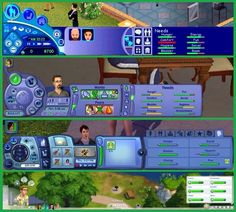 The sims evolution. What do You prefer?<----4 since it doesn't hog the bottom half of the screen