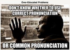 correct pronunciation or common pronunciation #AmericanAccent #EnglishPronunciation