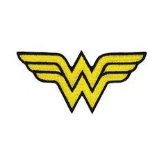 Wonder Woman Logo Iron-On Patch