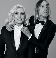 Debbie Harry & Iggy Pop