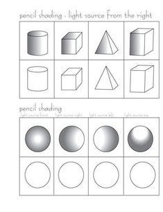 Pencil Shading Worksheets   PENCIL SHADING ACTIVITY - TeachersPayTeachers.com