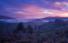 A Trossachs Sunrise above Duke's Pass