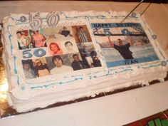 A massive collage edible image topper made by CustomIcing.com.au  (World wide shipping available!)