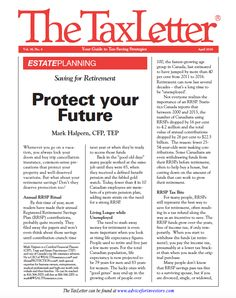 The TaxLetter - Saving for Retirement Protect your Future. Pension Plan, Saving For Retirement, Fast Growing, Self, How To Plan, Future, Future Tense