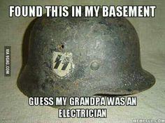 Un électricien =,)