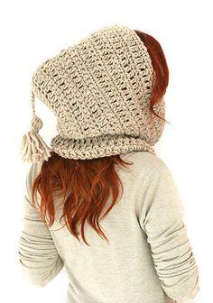 Crochet hood Hooded cowl Crochet hood cowl by MarryGKnitCrochet, $45.00