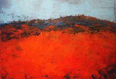 Fusion abstract landscape par ISANATIVELLE sur Etsy
