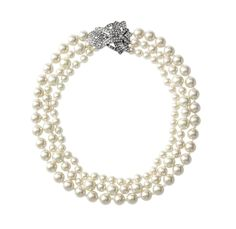 Adjustable Necklace Western Style Fashion Simulated Pearl Choker Necklace Statement Jewelry