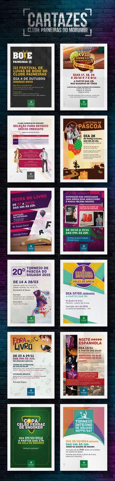 PAINEIRAS | Cartazes | Confira meu projeto no @Behance: