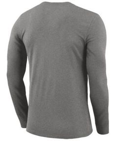 Nike Men s Portland Trail Blazers Dri-fit Cotton Practice Long Sleeve T- Shirt - 2c729f3e6