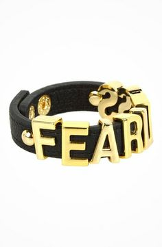 BCBGeneration Fearless Affirmation Bracelet #accessories  #jewelry  #bracelets  https://www.heeyy.com/bcbgeneration-fearless-affirmation-bracelet-new-gold-black/
