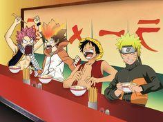 Ichiraku's bar meeting by CephiraOnamu I Love Anime, Awesome Anime, Naruto Shippuden Anime, Anime Naruto, Otaku Anime, Manga Anime, All Anime Characters, Fairy Tail Anime, Anime Crossover