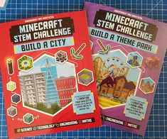 The Brick Castle: Minecraft STEM Challenge Books Review (age 6+) For Carlton Books
