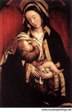 Ferrari Defendente - 1509 'Madonna and Child'   #TuscanyAgriturismoGiratola