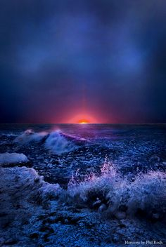 """In Just A Moment""  Horizons by Phil Koch. Lives in Milwaukee, Wisconsin, USA. phil-koch.artistwebsites.com"