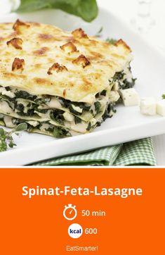 Yes Recipes: Search results for Spinat-Feta-Lasagne Lasagna Recipe With Ricotta, Spinach Lasagna, Spinach And Feta, Lasagna Recipes, Lasagna Soup, Vegetarian Lasagne, Fish Recipes, Healthy Recipes, Vegetable Recipes