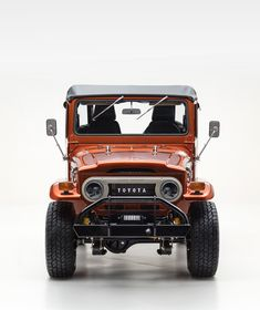 Restored 1972 Toyota FJ40 Land Cruiser