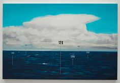 """Measuring Land and Sea"" continues Oliver Jeffers' investigation into the philosophical impasse at which art and science often find themselves. Great for the kids to see him in a different light. Until December 23rd at the Lazarides Gallery, Rathbone Place."