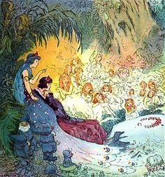 in My Fairy Stories on Kindle, originally from  My Very Own Fairy Stories illustrated by Johnny Gruelle (1917)