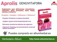 Aprolis Gengivitaform de Dietéticos Intersa.
