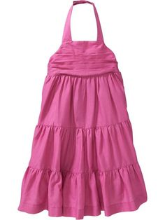 Tiered Halter Dresses for Baby