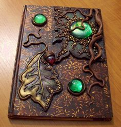 Roots and leaves journal by MandarinMoon, via Flickr