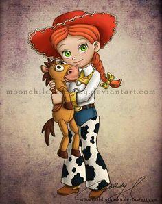 Toy Story/Jesse.