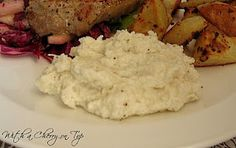cheesy mashed cauliflower more food ideas recipes side dishes cheesy ...