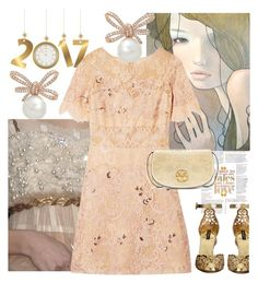 """Fresh Beginnings"" by petalp ❤ liked on Polyvore featuring Kawasaki, Notte by Marchesa, Dolce&Gabbana, Tory Burch and dress"