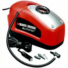 Black & Decker -Compressore portatile Air Station 11 bar x auto,moto,bici