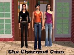 ModTheSims - Charmed Ones (Paige, Piper and Phoebe Halliwell) NOW AVAILABLE AS SEPERATE SIMPACKS