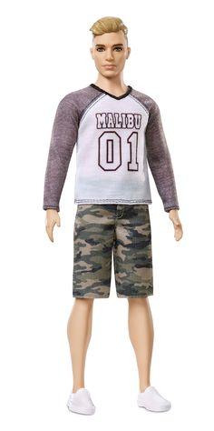 3c505055b74e Ken® Fashionistas® Doll –Camo Broad Barbie Toys