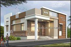 House Balcony Design, House Outer Design, Single Floor House Design, House Outside Design, Village House Design, Bungalow House Design, Small House Design, Modern Exterior House Designs, Latest House Designs