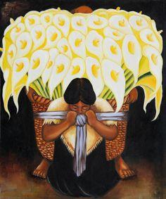 El Vendedor De Alcatraces: Diego Rivera.