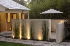1000 id es sur l 39 clairage ext rieur de mur sur pinterest for Lumiere terrasse exterieure