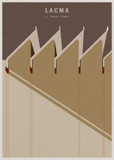 Minimalist Architecture Posters By Andre Chiote | Trendland: Fashion Blog & Trend Magazine